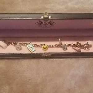 Authentic Juicy Couture Charm Bracelet